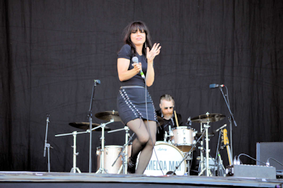 Imelda May at IOW Festival.